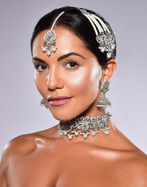 Sharmila Choker Set - Gold