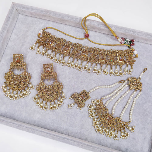 Sahdia Wedding Set - Golden