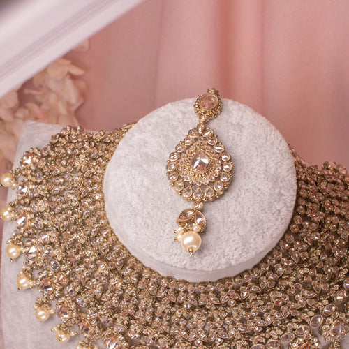 Omniya Bridal Necklace set
