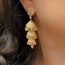 Load image into Gallery viewer, Jusna Jhumka Earrings