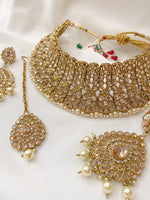 Sharjah Collar Set - Antique Gold