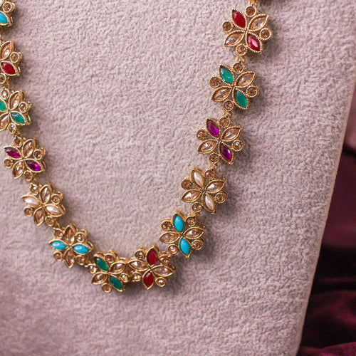 Long Multigem Necklace