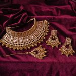 Sirantha Statement Choker Set - Golden