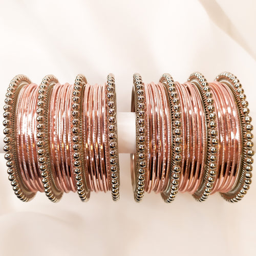 Bangle stack - Rose Gold