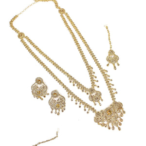 Leona Long Necklace -  Golden