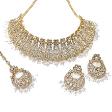 Load image into Gallery viewer, Ira Choker set - Gold