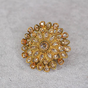 Large Phool Ring