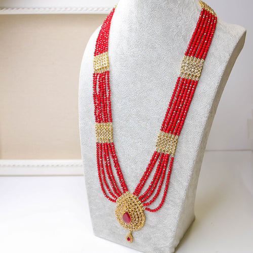 Gold plated Rani Haar