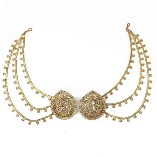 Pavan Earrings and Earchains