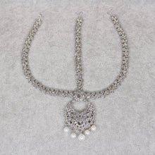 Load image into Gallery viewer, Shabnam head chain - Silver