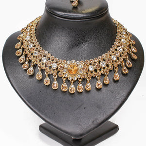 Kara Necklace set - Golden