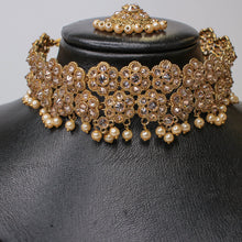 Load image into Gallery viewer, Maria Antique Choker set