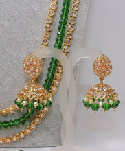 Load image into Gallery viewer, Sandeep Statement Bridal Necklace Set
