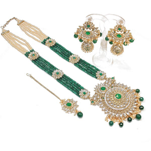 Surya Long Statement Pendant Set
