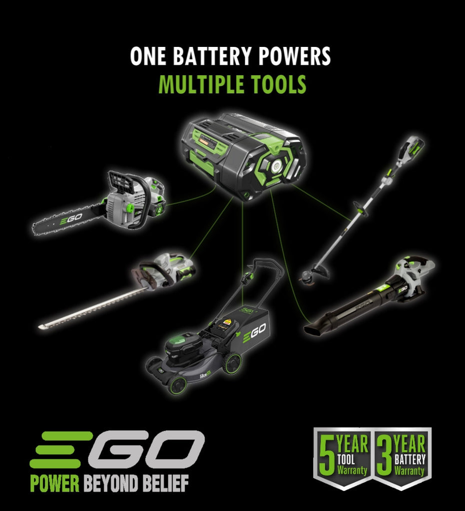 EGO Power Plus - Battery better than petrol?