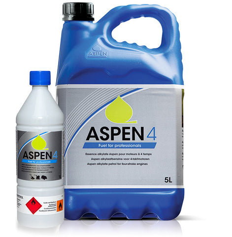 Aspen 4 stroke mower fuel