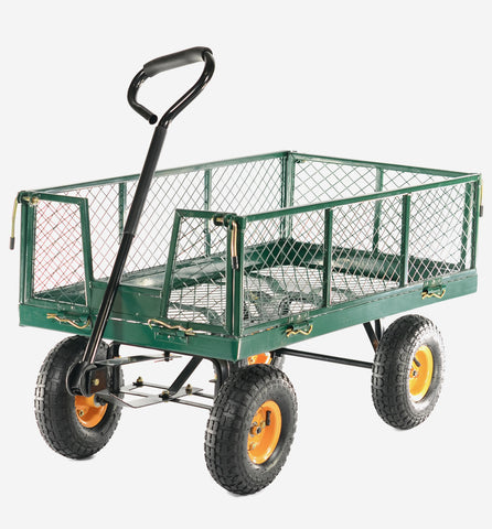 Cobra 300kg Hand Cart with drop down sides GCT300