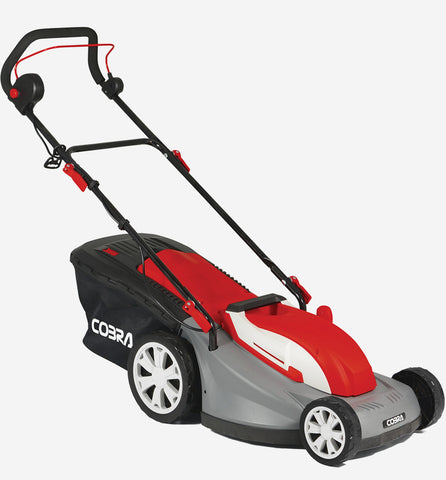 "Cobra 16"" electric lawnmower"