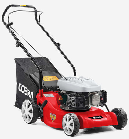 "Cobra 16"" petrol push lawnmower M41C"