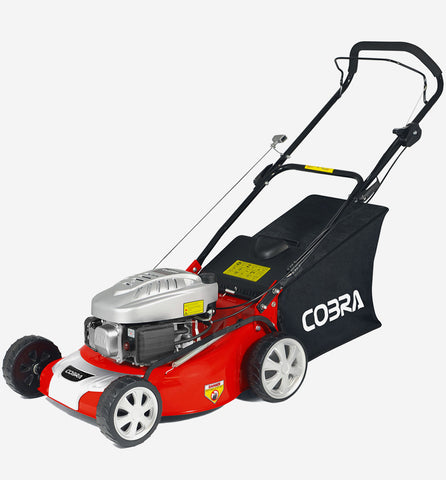 "Cobra 18"" push petrol lawn mower M46C"
