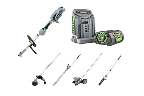 EGO Power Plus MHSC2002E Multi tool set with 5Ah battery