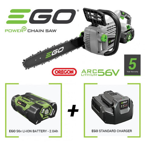 EGO battery chainsaw kit
