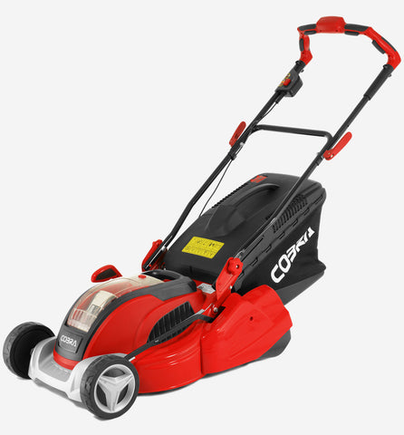 Cobra battery mower