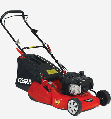"Cobra 18"" push rear roller lawn mower B&S engine RM46B"