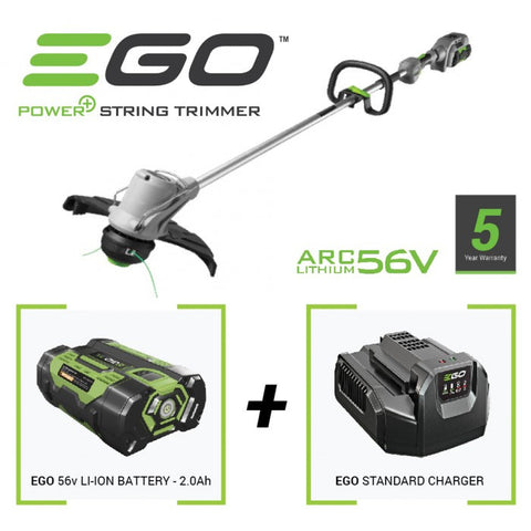 EGO battery strimmer kit