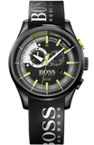 BOSS Yachting Timer Black Rubber Chronograph 1513337