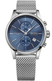 HUGO BOSS MEN'S JET CHRONOGRAPH STAINLESS STEEL BRACELET 1513441