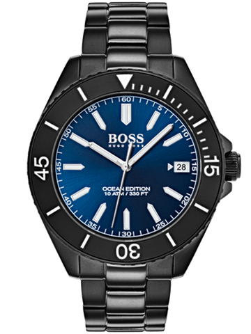 HUGO BOSS Ballpoint pen Ribbon Blue HSR9064N