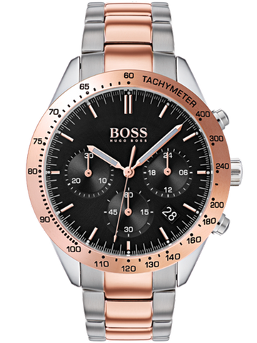 HUGO BOSS Orange Chicago Brown Leather Strap 1550062