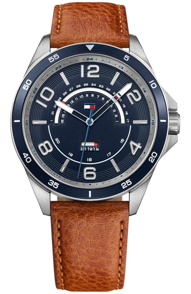 Tommy HILFIGER Brown Leather Strap 1791391