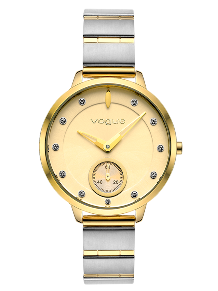 VOGUE Forum Two Tone Stainless Steel Bracelet 2020815061