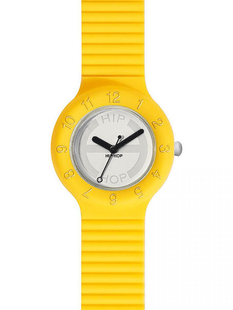HIPHOP YELLOW RUBBER STRAP 7612901700465