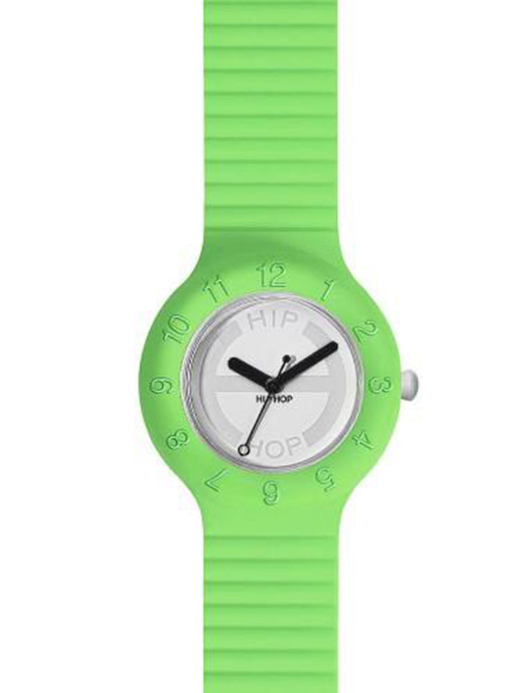 HIPHOP GREEN RUBBER STRAP 7612901700656
