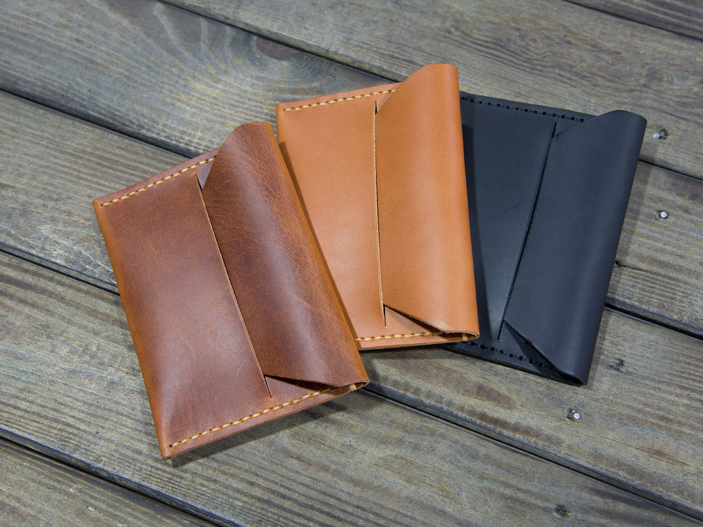 ID/PASSPORT HOLDER ΔΕΡΜΑΤΙΝΟ L107 OILY BROWN