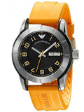Emporio Armani Orange Rubber Strap AR5872