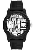 ARMANI EXCHANGE Silicone Black Strap AX1443