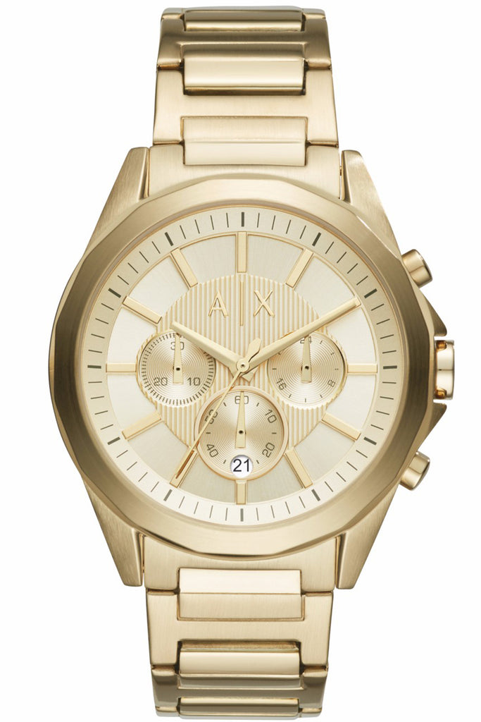 ARMANI EXCHANGE Drexler Chronograph Gold Stainless Steel Bracelet AX2602