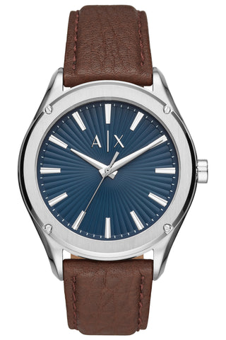 ARMANI EXCHANGE Cayde Blue Fabric Strap AX2712