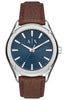 ARMANI EXCHANGE Brown Leather Strap AX2804