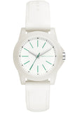 ARMANI EXCHANGE Banks White Rubber Strap AX4359