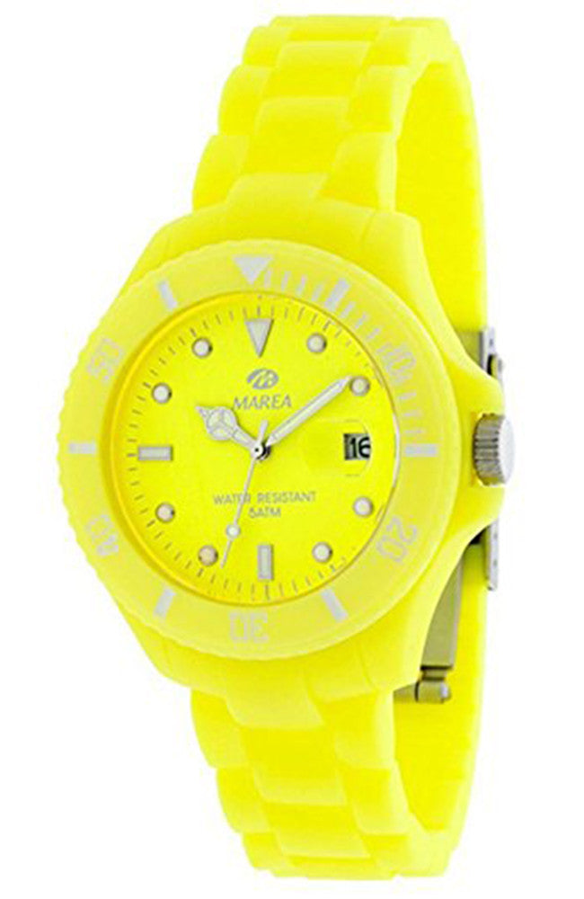 MAREA yellow Rubber Strap B35208/6