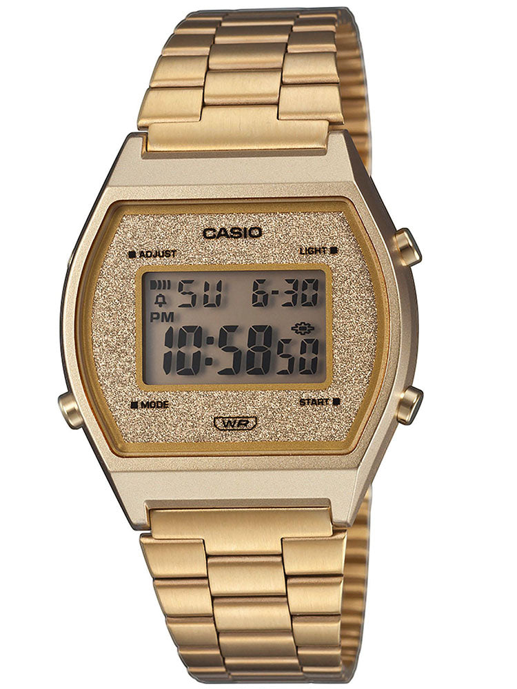 CASIO VINTAGE Gold Stainless Steel Bracelet B-640WGG-9EF