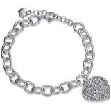 LUCA BARRA LADIES STAINLESS STEEL BRACELET BK1504