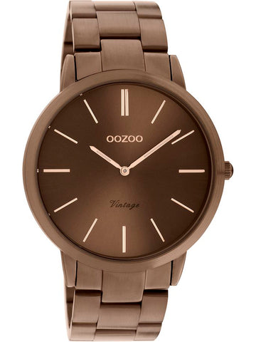 OOZOO VINTAGE brown stainless steel bracelet C20106