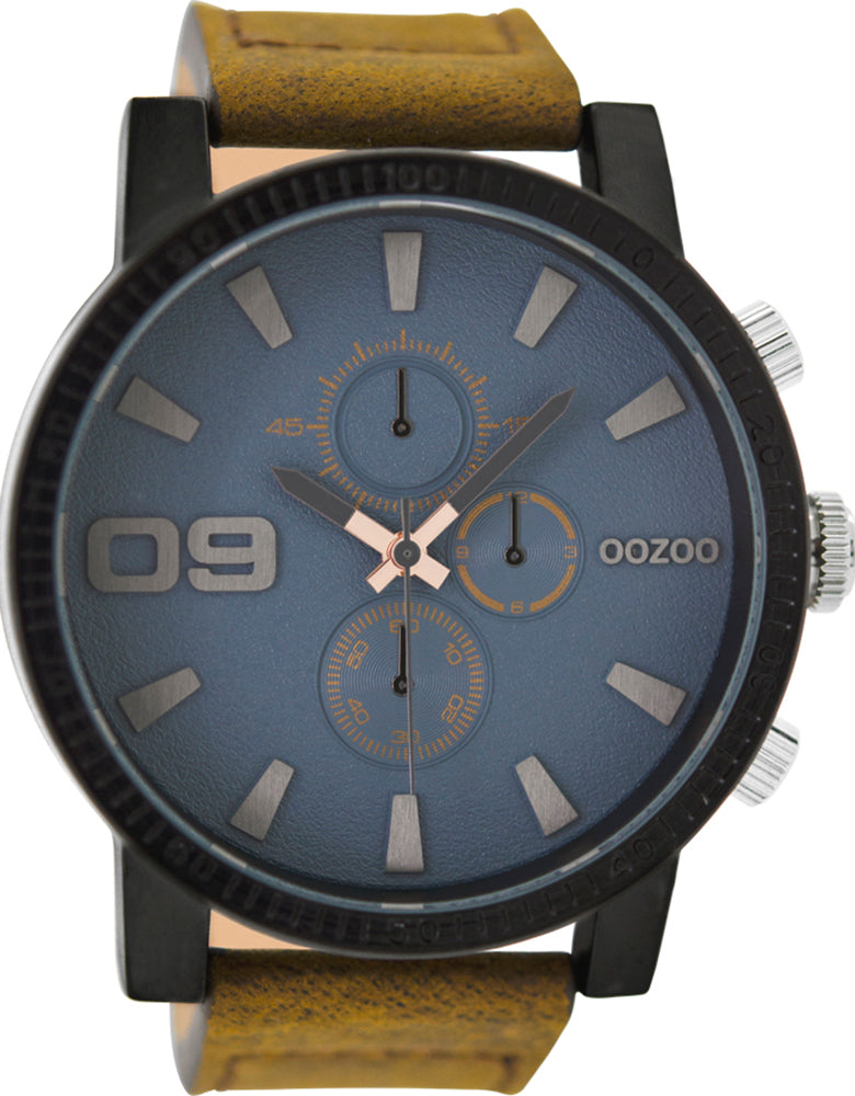OOZOO Timepieces Brown Leather Strap C9030