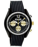 Dolce Gabbana Performance Black Rubber Strap DW0309